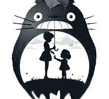Totoro by Mallexo