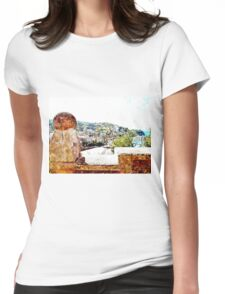 Agropoli: landscape Womens Fitted T-Shirt