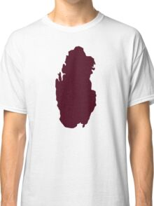 Qatar map Classic T-Shirt
