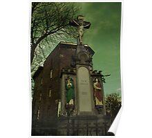Es Ist Volbracht - Crucified Jesus statue in Zabrze Poster