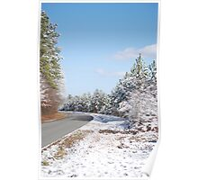 Road To A Winter Wonderland Poster