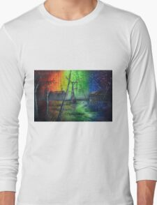 Back In The Bayou By Sherry Arthur Long Sleeve T-Shirt