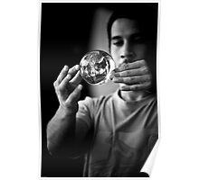 Man and his magic balls Poster