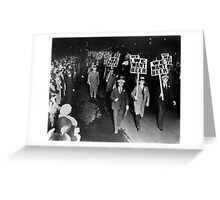 We Want Beer! Prohibition Protest, 1931 Greeting Card
