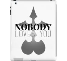 How Heartless! iPad Case/Skin