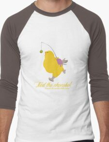 Feed the chocobo! Men's Baseball ¾ T-Shirt