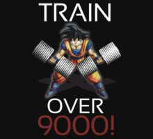 Train over 9000- White letters by m4x1mu5