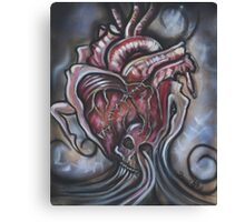 All About The Heart By Sherry Arthur Canvas Print