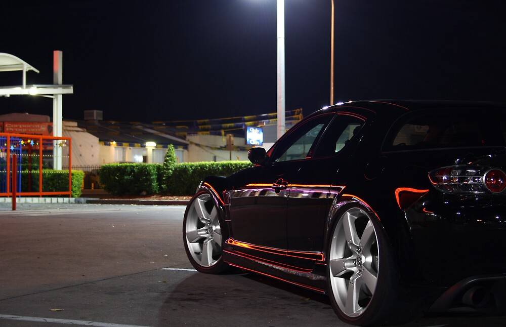 rx8 by Cale Bowick