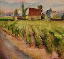 Vineyards by Fee Dickson