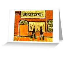Shabbytat Greeting Card