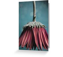 Ragged Blossom's new skirt Greeting Card