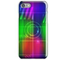 Colorful Abstract Pattern with Futuristic Sci Fi Effects. iPhone Case/Skin