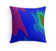 Oil on water 1 Throw Pillow