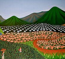 FINCA SAN. IGNACIO  ( Nicaraguan Folk Art.) by mariaGonzalez