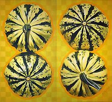 Four Gourd Diptych by steve fortier