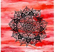 Red Mandala by tatianaedell
