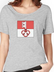 Flag of Obwalden Canton  Women's Relaxed Fit T-Shirt