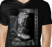 Attitude  120 Mens V-Neck T-Shirt
