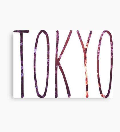 Tokyo Nights Canvas Print