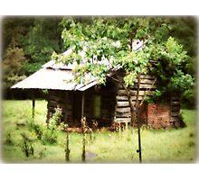 Old cabin Franklin, North Carolina Photographic Print