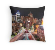 George Street, Sydney Throw Pillow