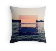 The World is Your Oyster Throw Pillow