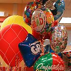 Colorful Graduation Balloons by manchesterjohn
