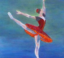 Red Ballerina by jfrier