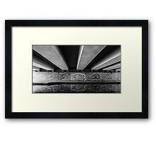 Dragons on the Canal Framed Print