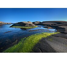 carved island Photographic Print