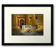 MarsaXlokk Parish Portal Framed Print