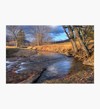 Scene By The Brook Photographic Print