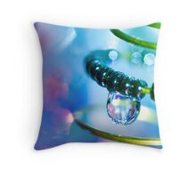 Water and Spring.  Throw Pillow