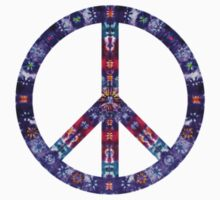 Peace Sign Tie Dye by beeweecee
