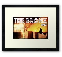 The Bronx, 1977 Framed Print