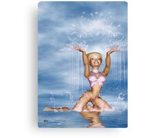 Pure Joy Comes From Within Canvas Print