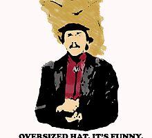 Turd Ferguson Oversized Hat by suttercain