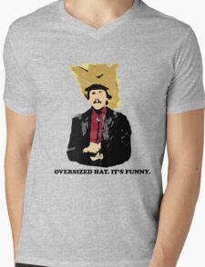 Turd Ferguson Oversized Hat Mens V-Neck T-Shirt