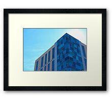 Building Meets Sky Framed Print