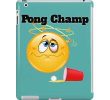 pong champ iPad Case/Skin