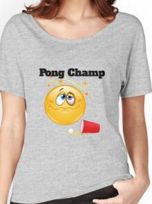 pong champ Women's Relaxed Fit T-Shirt