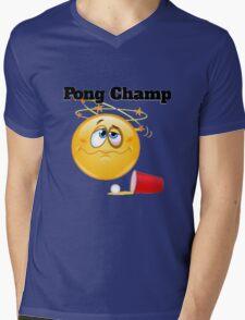 pong champ Mens V-Neck T-Shirt