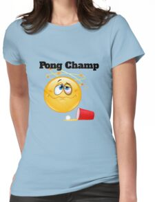 pong champ Womens Fitted T-Shirt