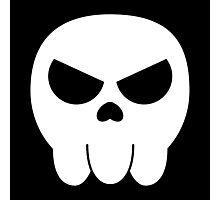 Jimbo Skull Photographic Print