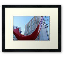 Curves - Color Framed Print