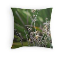 Dried weeds  Throw Pillow