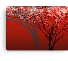 On the Night of the Blood Moon Canvas Print