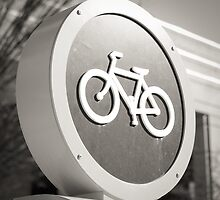 Bike Sign by Alex Baker