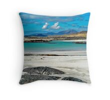 Sanna Bay Ardnamurchan Throw Pillow